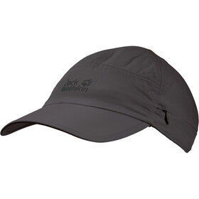 Jack Wolfskin Supplex Canyon Cappello, dark steel